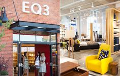 EQ3 Liberty Village- Where we grabbed our amazing Chaise :)