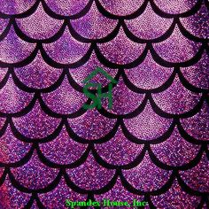 Items similar to New black with fuchsia jumbo fish scales inch each scale with foil Hologram on 4 way poly spandex fabric sold by the yard on Etsy Fish Scales, Mermaid Scales, Ariel Mermaid, Wallpaper Backgrounds, Colorful Backgrounds, Iphone Wallpaper, Fabric Fish, Mermaid Fabric, Mermaid Wallpapers