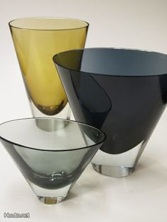 KAJ FRANCK KF 234 for Nuutajärvi Mid-century Interior, Interior Accessories, Nordic Design, Scandinavian Design, Glass Vessel, Glass Art, Whippets, Antique Glass, Glass Design