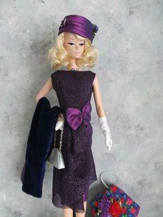 OOAK Vintage Barbie /Silkstone  Putting on the Ritz!  Handmade by Ann