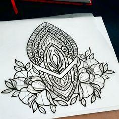 buraka tattoo at DuckDuckGo Buraka Tattoo, Backpiece Tattoo, Tattoo Outline, Back Tattoo, Mandala Art, Mandala Tattoo Design, Henna Tattoo Designs, Mandala Rose, Designs Mehndi