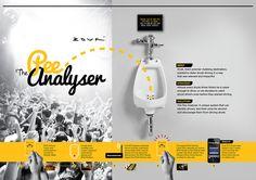 The Pee Analyser on Behance
