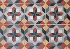 Vives Vodevil Musichalls Multicolour Patterned Floor