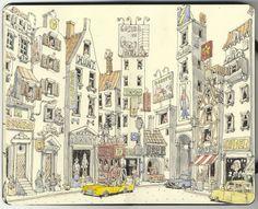 Schweinburg revisited #mattias_inks #sketches