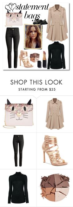 """cat bag"" by giada2017 on Polyvore featuring moda, Betsey Johnson, Jessica Simpson, Balmain e lilah b."