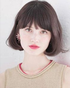 I have left a little weight, made to dilute the bangs, French Bob that issued the lightness. While the inner winding of the silhouette overall, to partially…