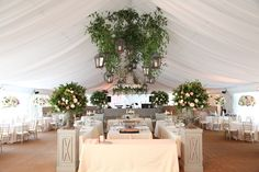 """#pleasebeseated """"mooreland"""" columns and stage front look stunning at a wedding"""