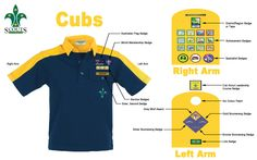 Cub Scout Badges, Cub Scout Shirt, Cub Scouts, Leadership Courses, Cubs Shirts, Australian Flags, Scout Activities, Girl Guides, Tooth Fairy