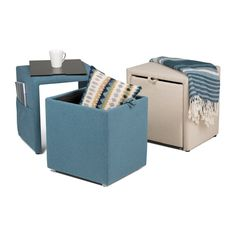 Studio Designs Home Charter Storage Ottoman - With sleek lines and multiple functions, the Studio Designs Home Charter Storage Ottoman is the perfect addition to your modern home. This stylish...