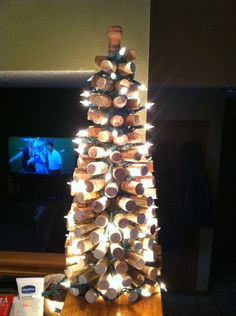 My Wine Cork Christmas Tree