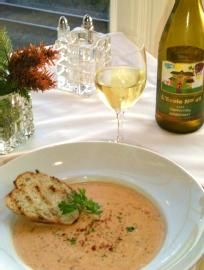 Whiskey Crab Soup