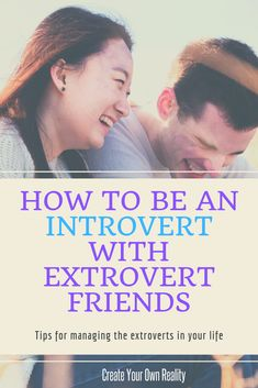 One big introvert problems is managing extroverts who don't get us. They often mean well, they just don't get what it means to be an introvert. Here are tips to manage the extroverts in your life. Live Happy, Happy Life, Create Your Own Reality, Life Advice, Life Tips, Introvert Problems, Extroverted Introvert, Infj Personality, Social Activities