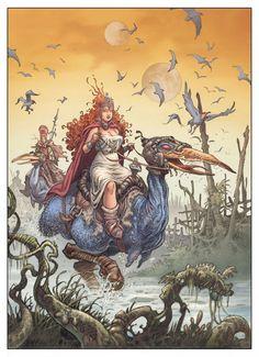 La Quête de l'oiseau du temps : BD de Loisel et Le Tendre