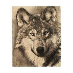 Wolf Wood Prints
