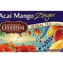 Celestial Seasonings Acai Mango Zinger Herb Tea (6x20bag)