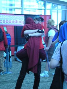homestuck Dave Strider cosplay bro strider Dirk Strider sakuracon BRO HUGS