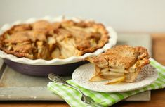 You must make this pie! Fresh Pear Pie with Cheddar Crust - Heart Healthy, Low Calorie Food Done Light