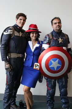 dress up as captain america agent peggy carter for halloween