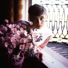 Rare Audrey Hepburn — Audrey Hepburn photographed by Bob Willoughby in...