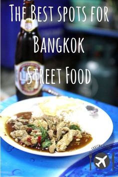 A guide on the best spots to eat street food in Bangkok