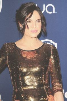 Lana at the golden globes in style party.