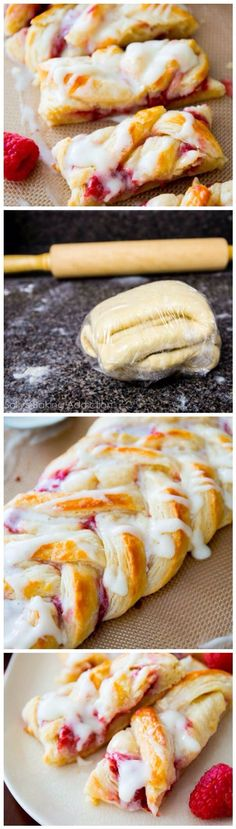 raspberry danish bread braid