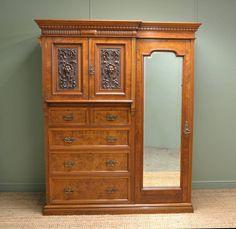 Chiffarobe Antique Furniture Oak Chifferobe