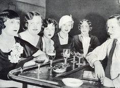 """Tranvestites at Berlin's """"El Dorado"""" club - 1920s"""