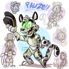 A fan made animatronic by Orlandofox. Fnaf Oc, Foxy And Mangle, Dream Pictures, Fnaf Characters, Fnaf Sister Location, Fandom Crossover, Fox Art, High Fantasy, Ship Art