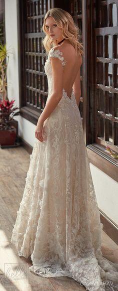 Wedding dress by Galia Lahav Couture Bridal - Fall 2018 - Florence by Night - Bryony