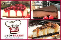 In honor of National Cheesecake Day, we'd love to hear which of these three 1-800-Bakery.com favorites you'd like to dig in to!