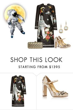 """""""Space Walk"""" by sjlew ❤ liked on Polyvore featuring Dolce&Gabbana"""