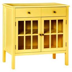 $135.99 sale  Reg: $169.99 Windham 2 Door Cabinet with Drawers - Threshold™ in Banana Split at Target