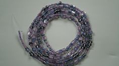 Bead string. Lovely lilac mix. £2.59
