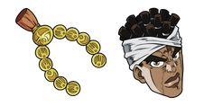 Joseph Joestar's Egyptian friend - righteous Muhammad Avdol, and his medallion earrings in the anime cursor from the JoJo's Bizarre Adventure series. Jojo's Bizarre Adventure, Yandex, Microsoft, Joseph Joestar, Chrome Web, Jojo Bizarre, Muhammad, Egyptian, Anime