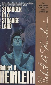 Stranger in a Strange Land by Robert A. Heinlein. It is the story of Valentine Michael Smith, the man from Mars who taught humankind grokking and water-sharing. And love... Read it on #Kobo: http://www.kobobooks.com/ebook/Stranger-in-a-Strange-Land/book-khjJ2VPFf0-dDGdxvpPnRw/page1.html