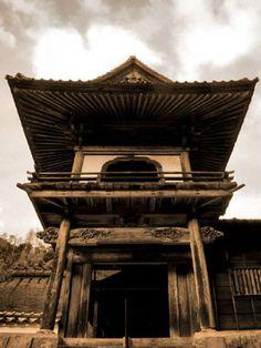 Yomeiji Temple, Tsuwano Shimane Prefecture.