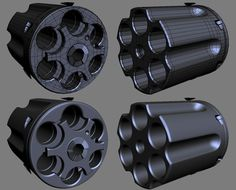 FAQ: How u model dem shapes? Hands-on mini-tuts for mechanical sub-d AKA ADD MORE GEO - Page 103 - Polycount Forum