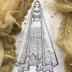 Fairytale Lehenga: Get Your Love Story Embroidered On Your Wedding Lehenga - BollywoodShaadis.com