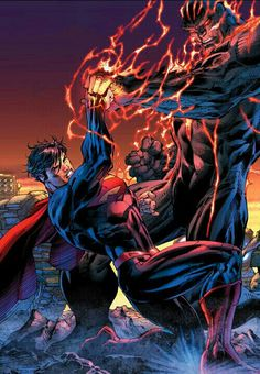 Superman vs Wraith