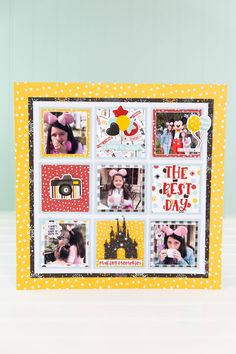 May Projects-1386 Disney Scrapbook, Scrapbook Pages, Scrapbooking, Scrapbook Layouts, Project Steps, Echo Park Paper, Making Memories, Papers Co, In This Moment