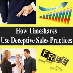 How Timeshares Use Deceptive Sales Practices