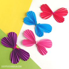 It's really easy to learn how to make a paper butterfly and once you'll make one you won't be able to stop. This project is fun both for kids and kids and heart as it's quick and simple. It's perfect for spring time or any time really when you just wish to make something simple …