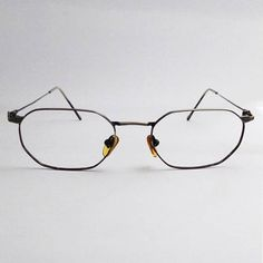 98a516c38af SALE - - HEXAGONAL FRAME - made in italy - vintage frames - womens   mens  sunglasses - vintage sunglasses - frame - hexagonal lenses