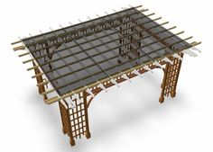 How to Build a Pergola that Provides Shade All Day Long.