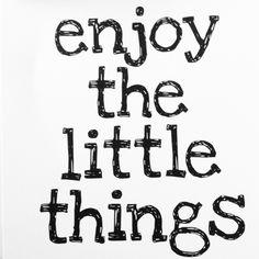 It's about the little things - de kleine dingen