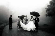 Tips for Making the Most of Rainy Day Weddings
