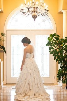 @mikaellabridal Real Bride Martha capturing elegance in Style 1908  Visit our website to see Martha's full story!