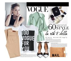 """""""Too Vogue for You."""" by statisticam ❤ liked on Polyvore featuring Anja, AG Adriano Goldschmied, Givenchy, Akira, polyvorecontest, graphictshirt and 60secondstyle"""
