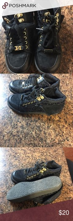 Michael kors girls shoes Michael kors size 3 girls quarter top fashion shoes gently used worn 2timed Michael Kors Shoes Sneakers